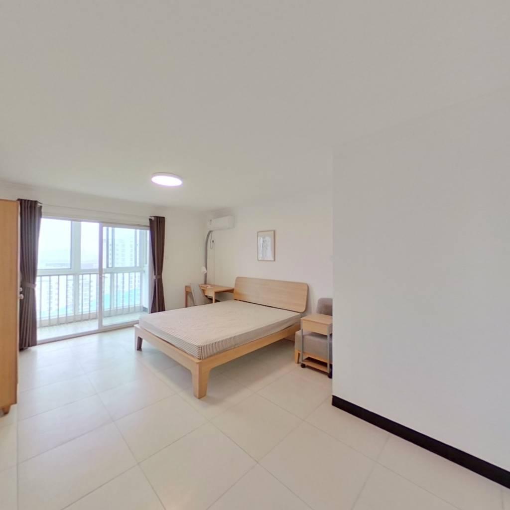 合租·梵谷水郡 3室1厅 西卧室图