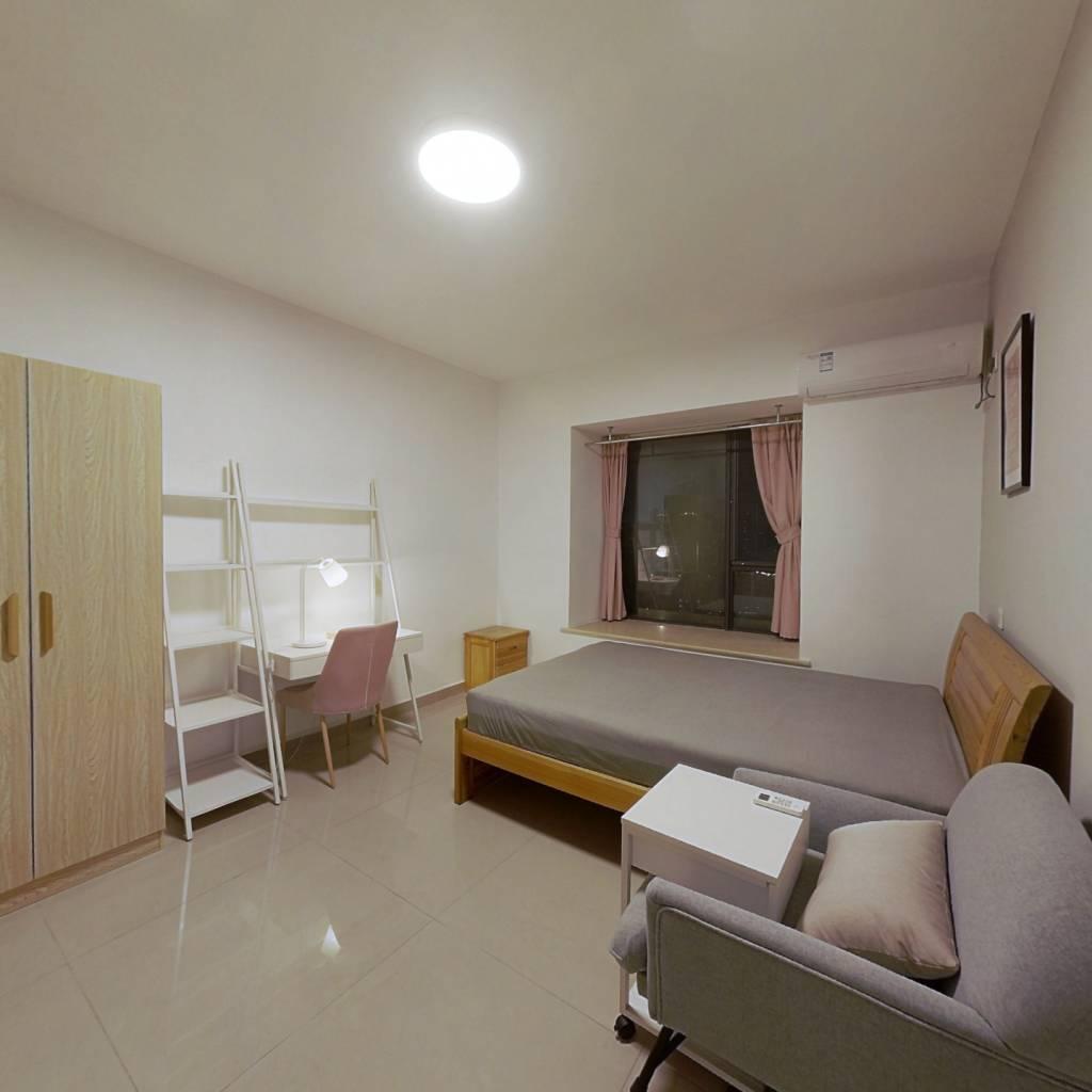 合租·汇融名城C区 4室1厅 东卧室图