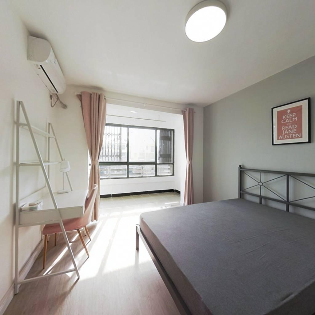 合租·春江新城鸿觉坊 4室1厅 南卧室图