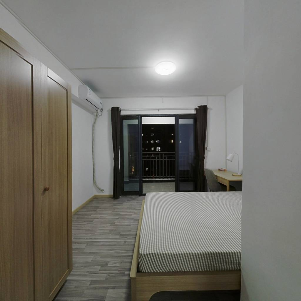 合租·汉口城市广场 5室1厅 南卧室图