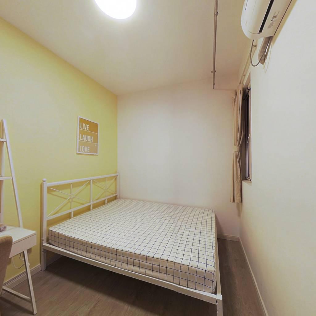 合租·福星惠誉红桥城 4室1厅 东南卧室图