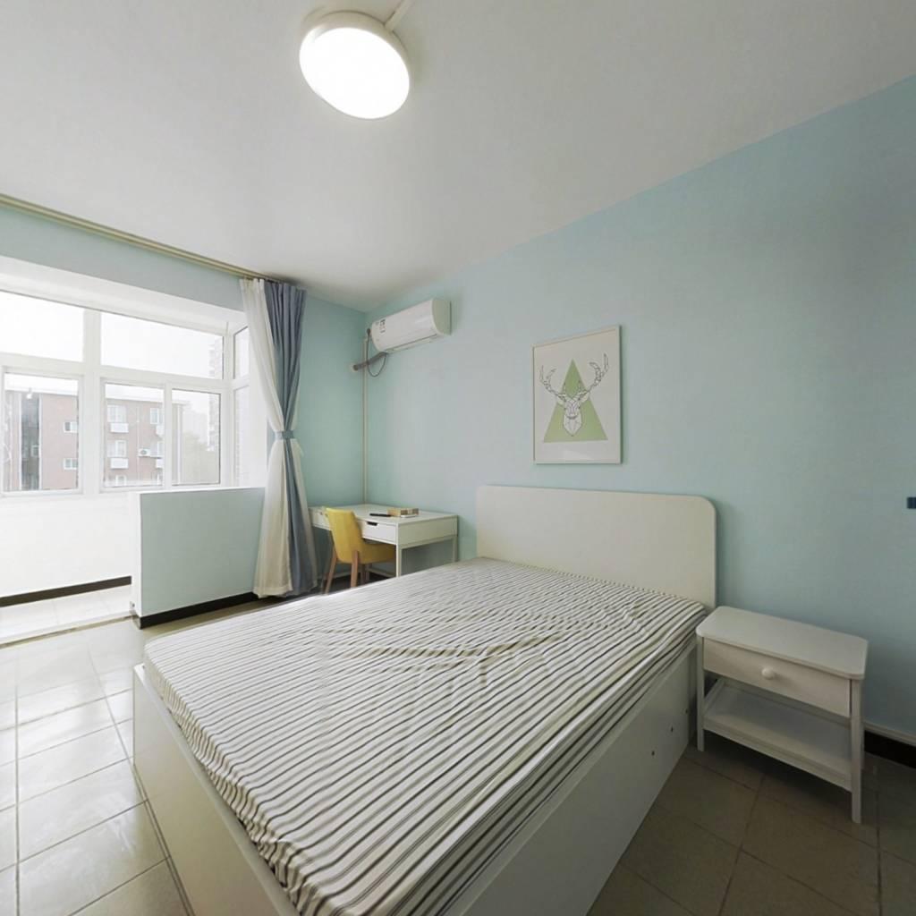 整租·万寿路小区 2室1厅 南卧室图