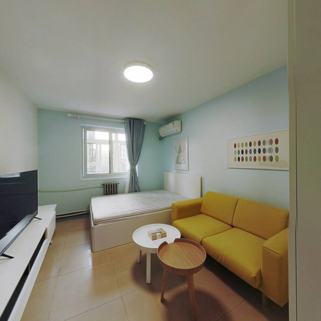 整租·金田花园 1室1厅 南卧室图