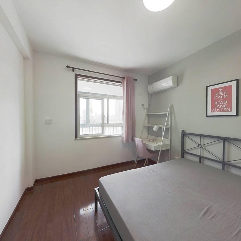 合租·千家鑫苑 3室1厅 南卧室图