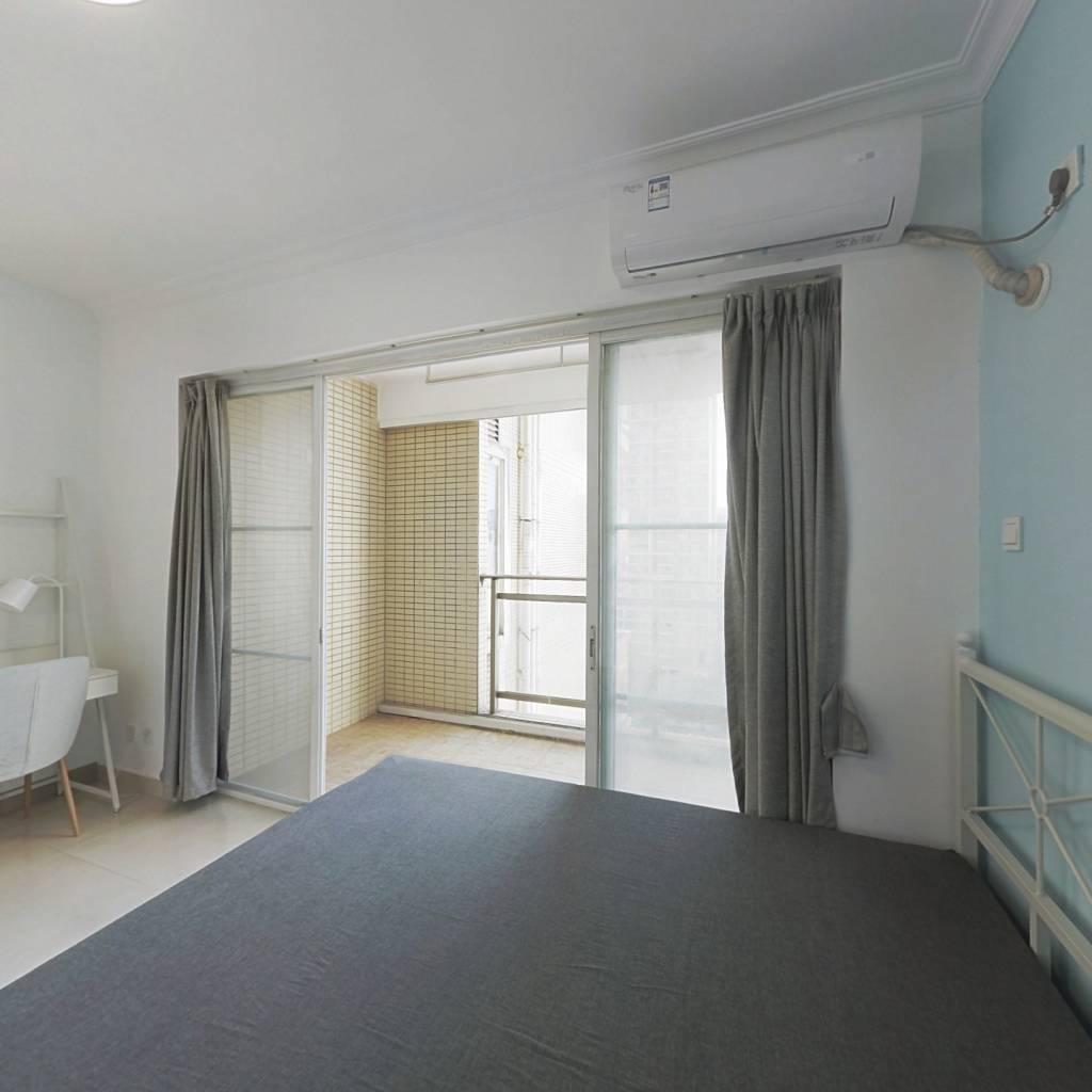合租·泓景花园 4室1厅 北卧室图