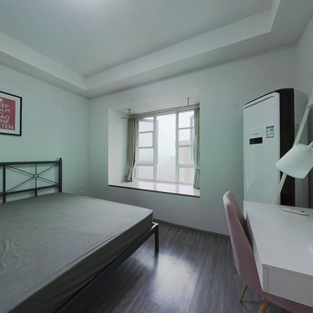 合租·龙湖上城天街广场 4室1厅 南卧室图