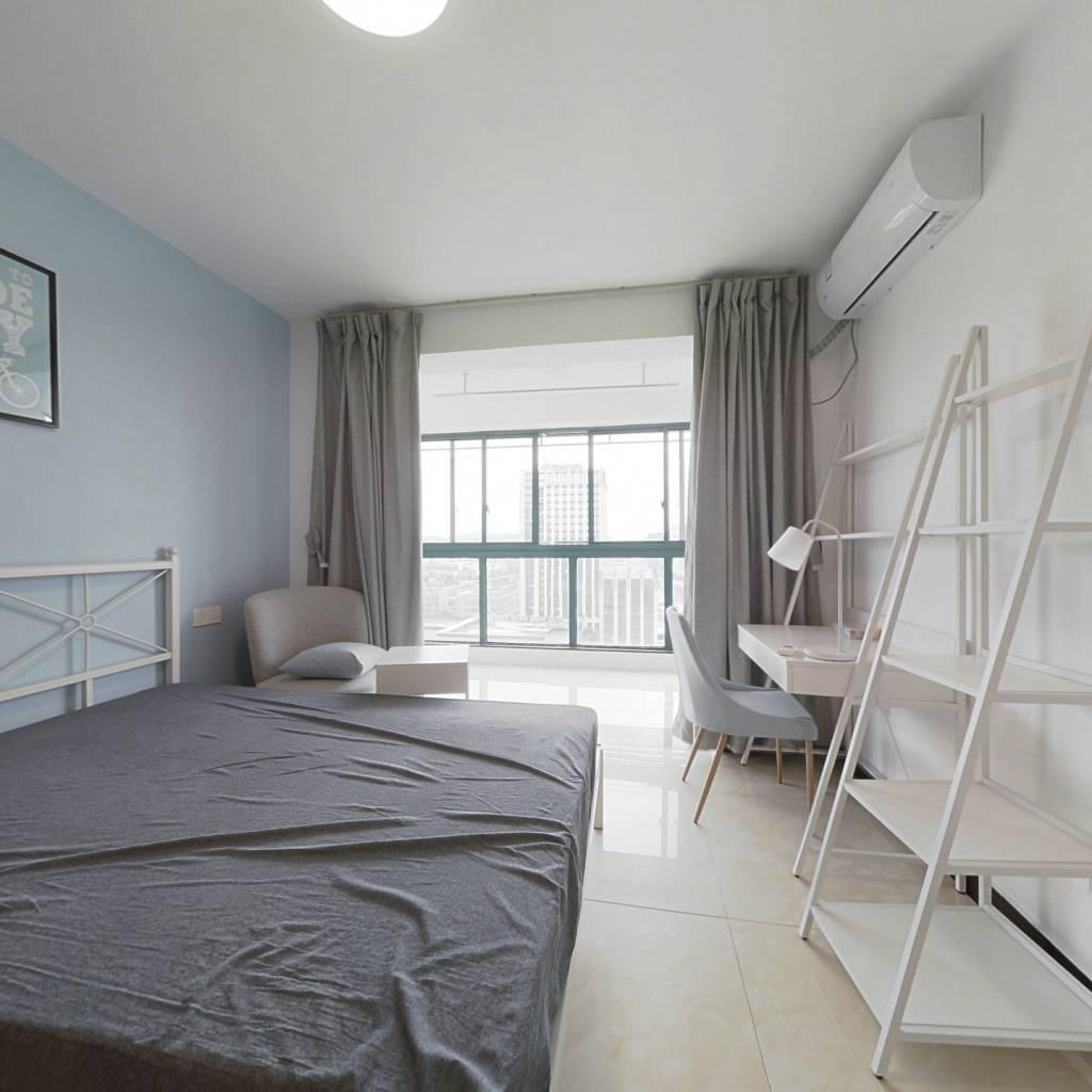 合租·春波南苑 3室1厅 南卧室图