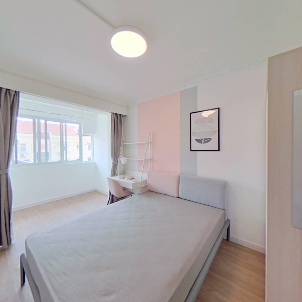 合租·静安新城三区 3室1厅 南卧室图