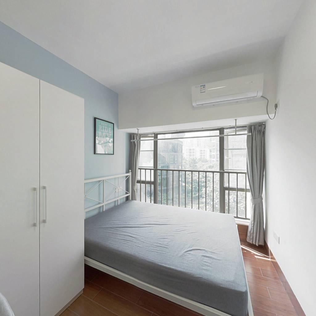 合租·自在城市花园三期诺德名都 4室1厅 西卧室图