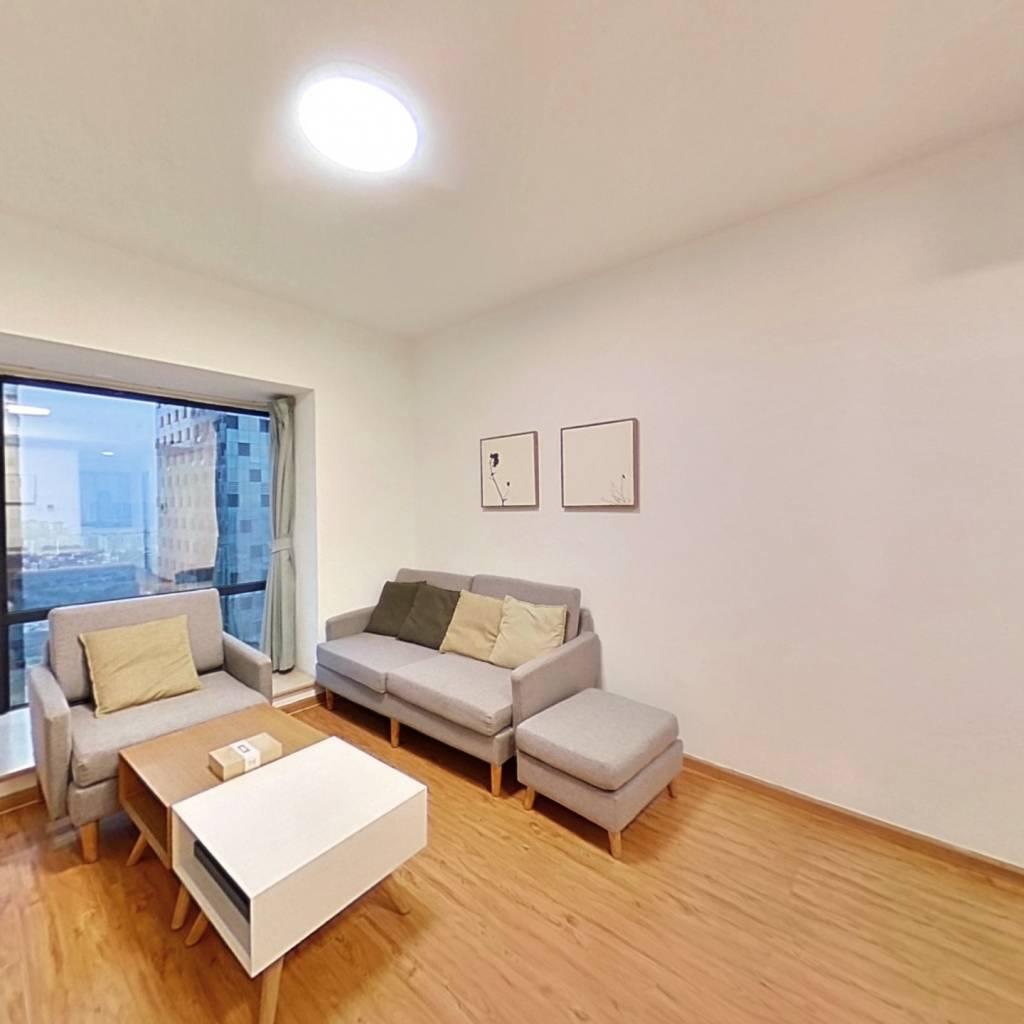 整租·摩玛城 2室1厅 西南卧室图