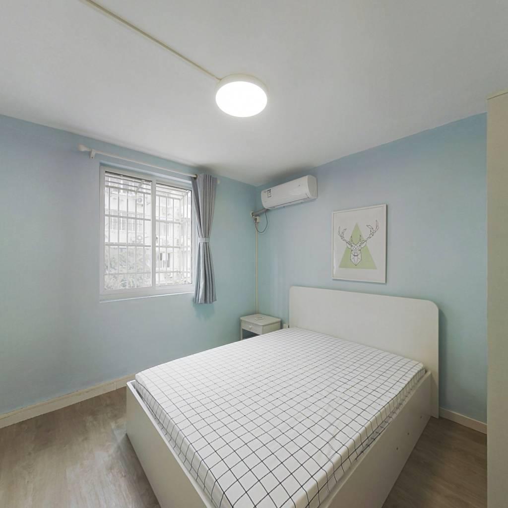 整租·济阳三村 2室1厅 南北卧室图