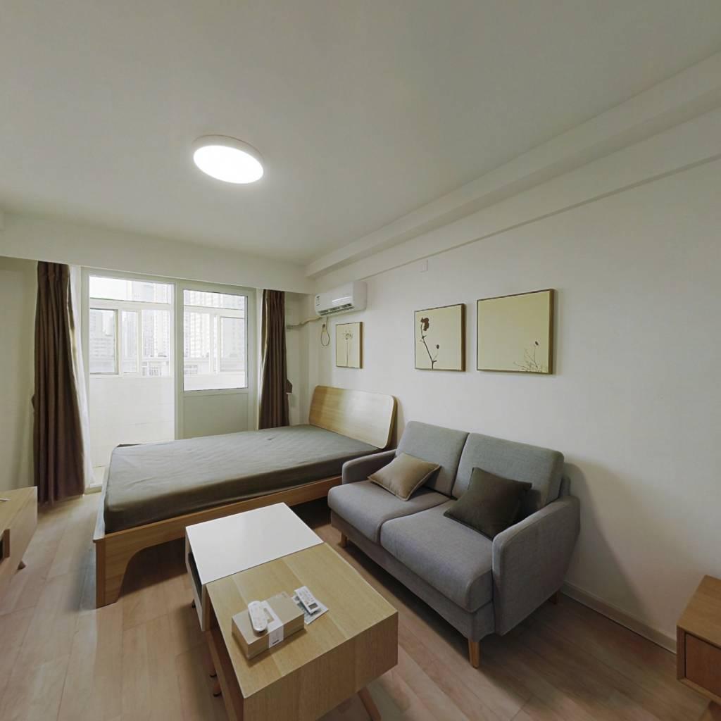整租·福至里 1室1厅 南卧室图