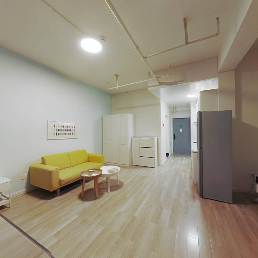 整租·城市之光月光园 1室1厅 西北卧室图