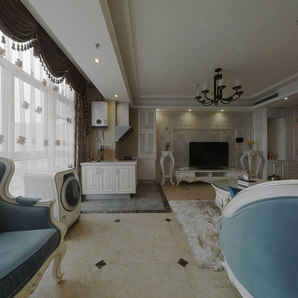 汉城湖边两室精装公寓,满三满二,业主诚心出售!