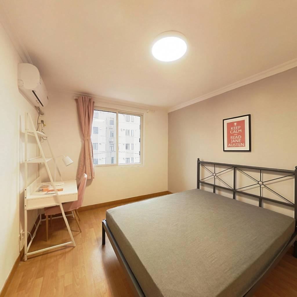 合租·民悦苑 3室1厅 南卧室图