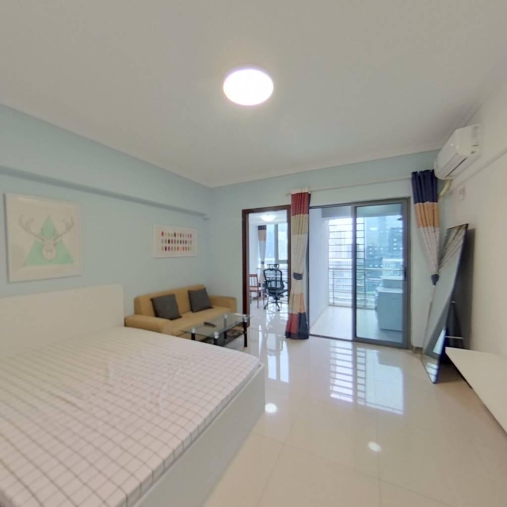整租·深圳市软件产业基地 1室1厅 南卧室图