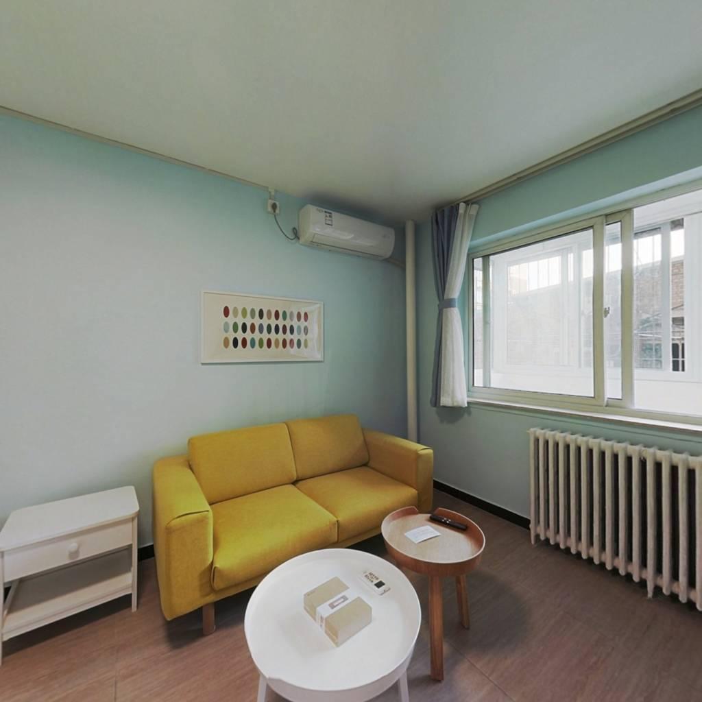 整租·明光村小区 1室1厅 南卧室图