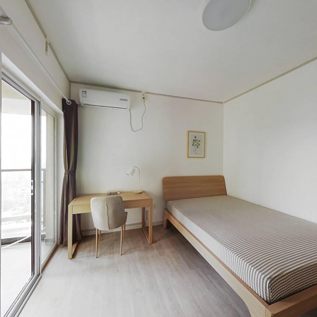 合租·汉口新界广场 3室1厅 南卧室图