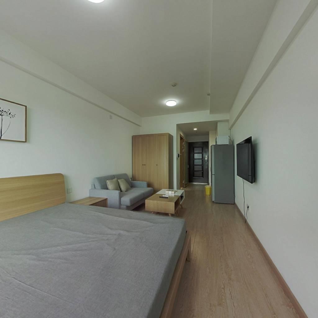 整租·龙湖北城天街 1室1厅 北卧室图