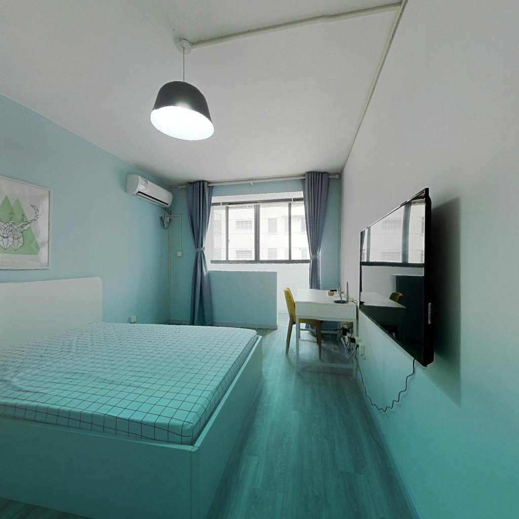 整租·潍坊八村 1室1厅 南卧室图