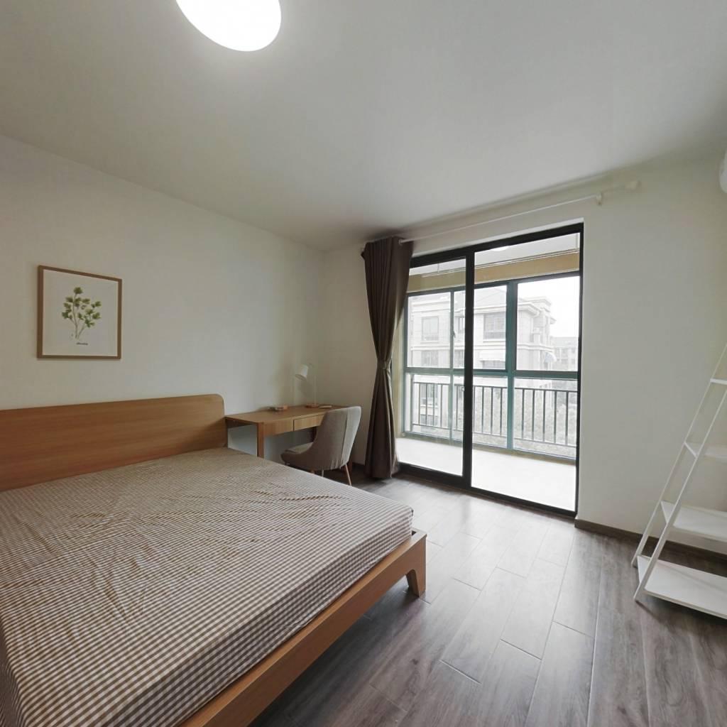 合租·御水湾花园 4室1厅 南卧室图