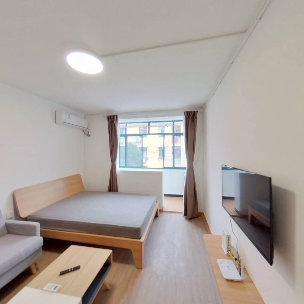 整租·永德小区 1室1厅 南卧室图