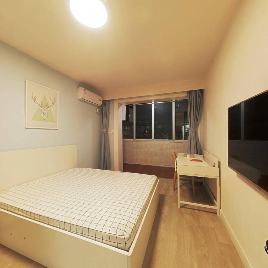 整租·武定路946号 1室1厅 南卧室图
