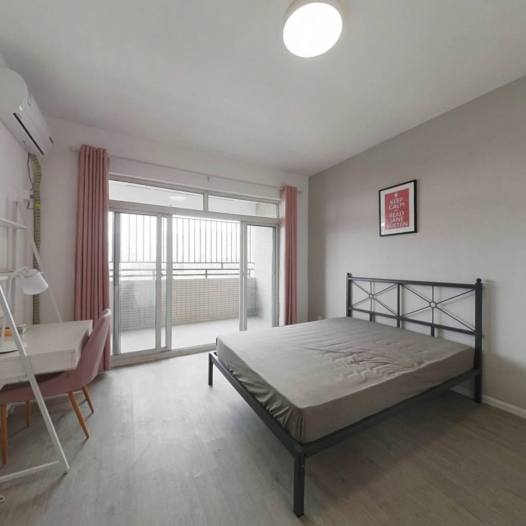 合租·逸都国际 3室1厅 西卧室图