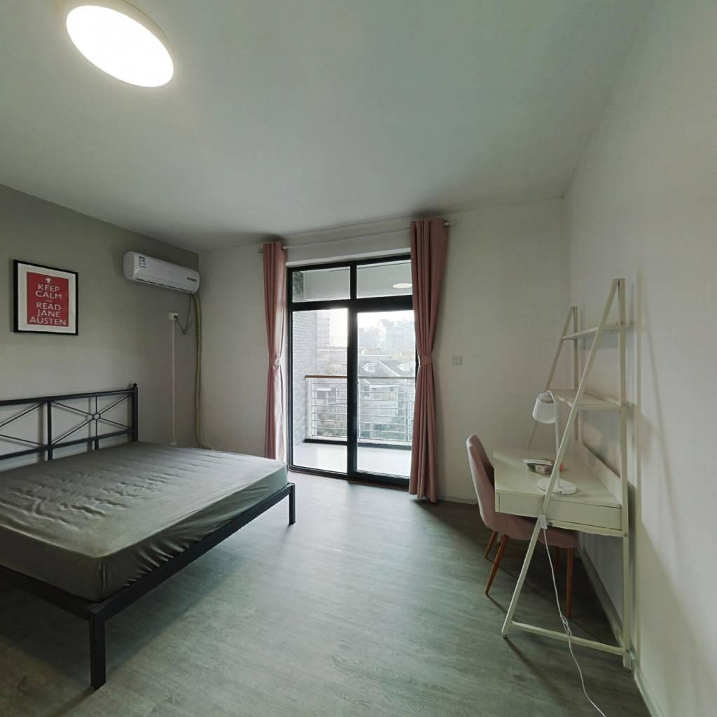 合租·融城理想 4室1厅 西卧室图