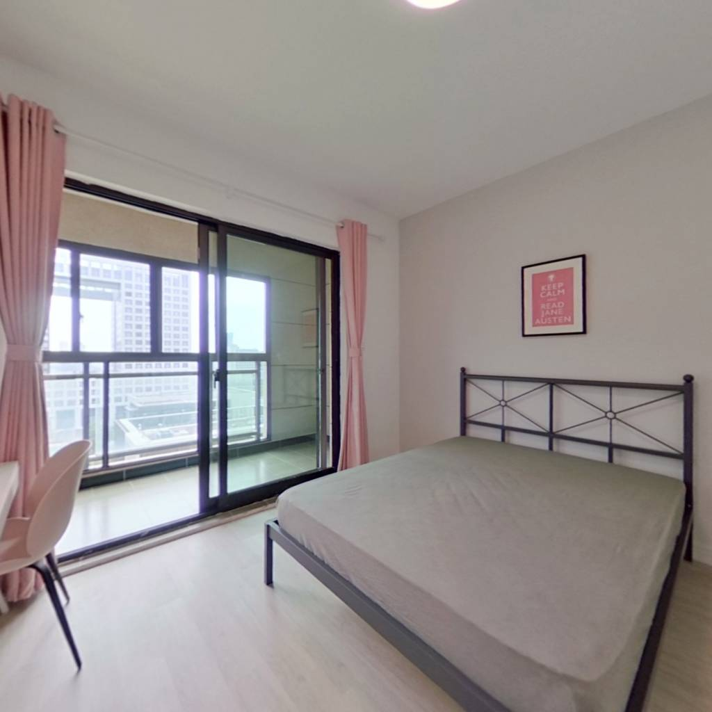 合租·中建光谷之星 4室1厅 北卧室图