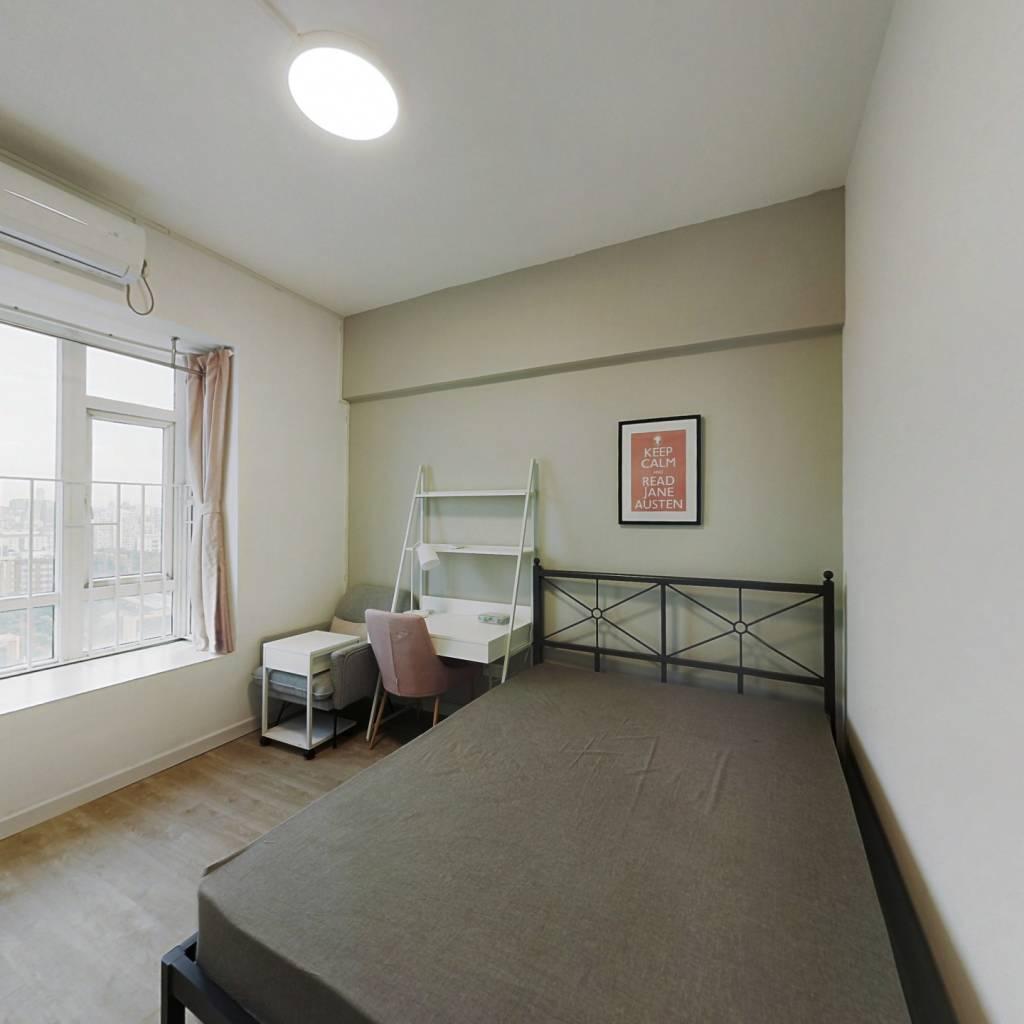 合租·橡树园 4室1厅 西卧室图