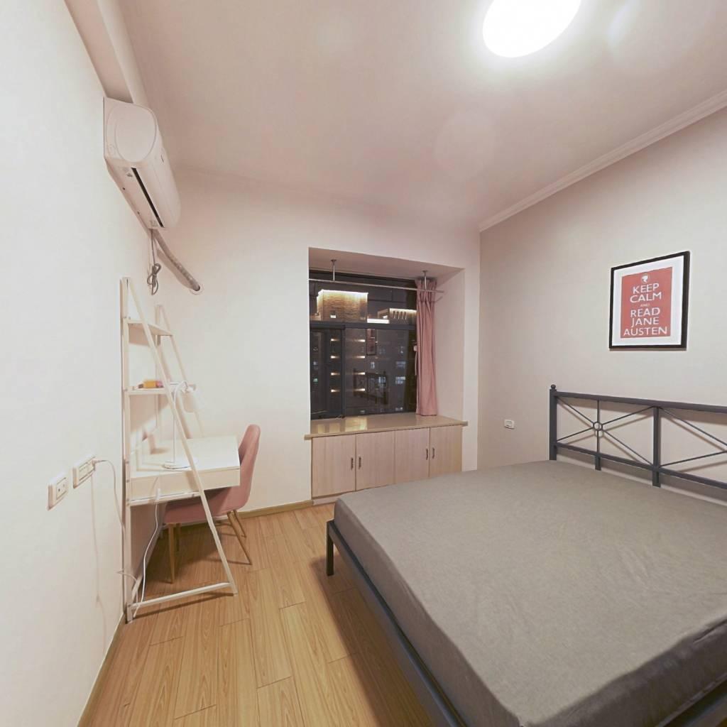 合租·铁机盛世家园 3室1厅 南卧室图