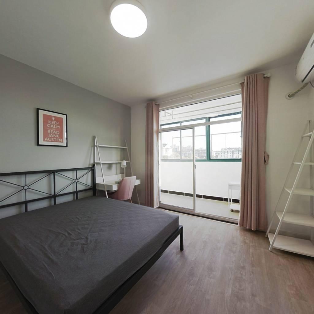 合租·天景山公寓盛乐苑 4室1厅 北卧室图