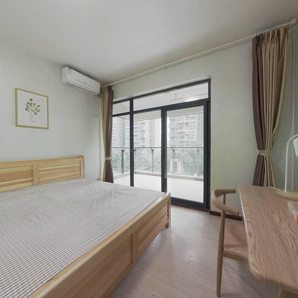 合租·紫东芯座 4室1厅 西北卧室图