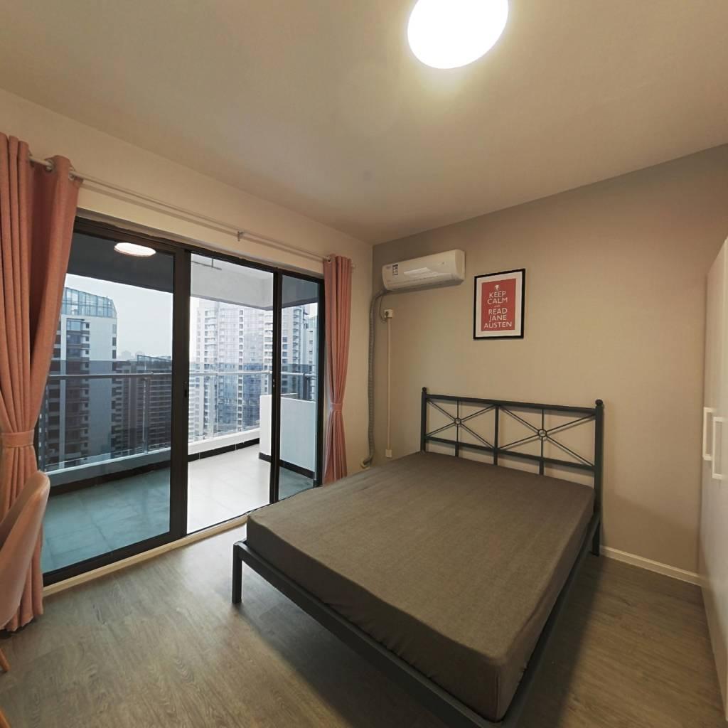 合租·绿地468云玺五期 4室1厅 东南卧室图