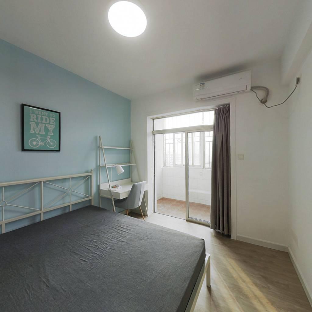 合租·穗园小区 3室1厅 西卧室图