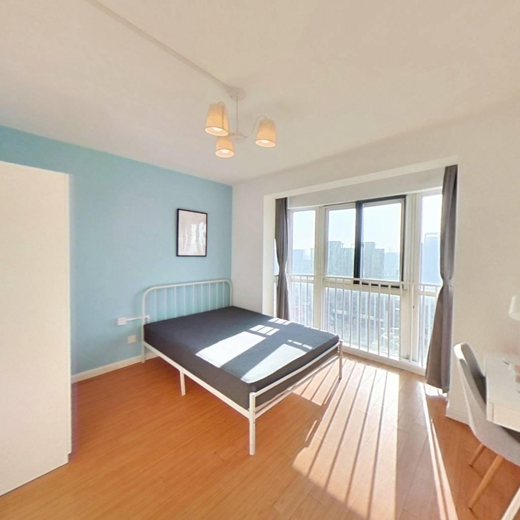 合租·新江花园 4室1厅 西卧室图