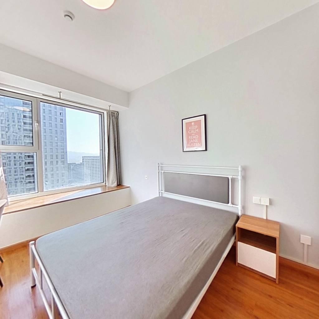 合租·奥克斯时代未来之城 4室1厅 北卧室图