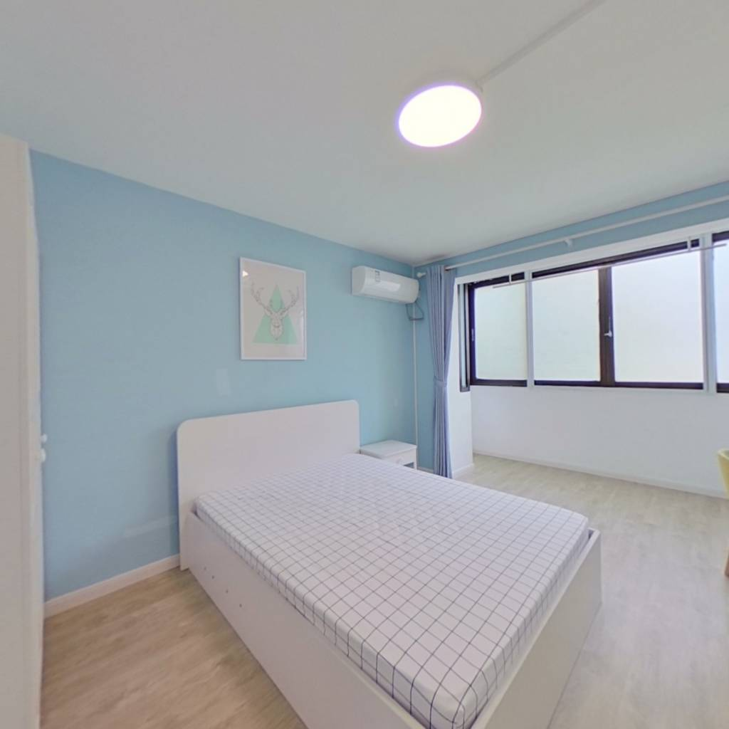 整租·延北小区 2室1厅 南卧室图