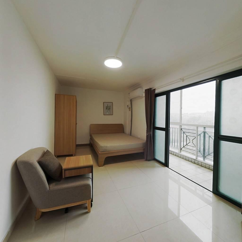 合租·珠岛花园 4室1厅 西卧室图