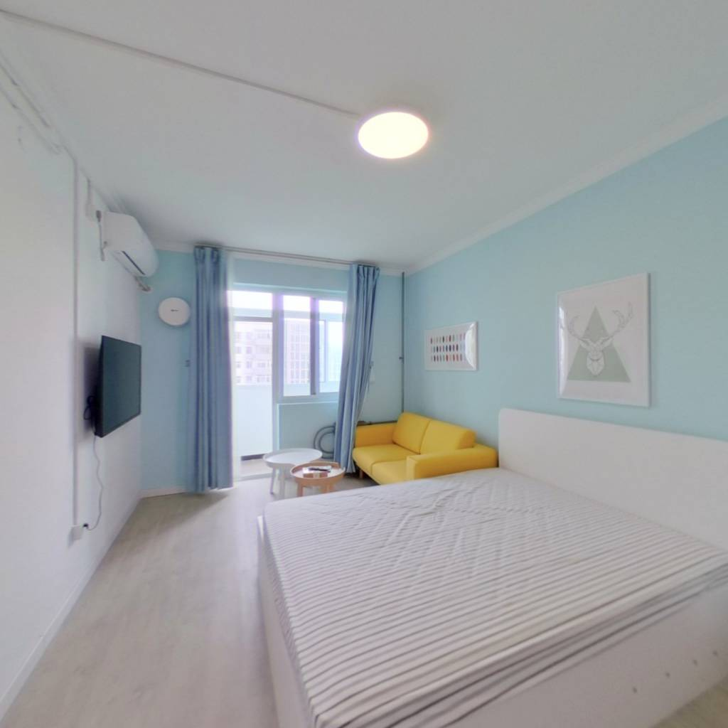 整租·双榆树北里 1室1厅 卧室图