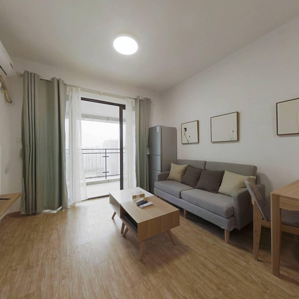 整租·布鲁明顿广场 1室1厅 东南卧室图