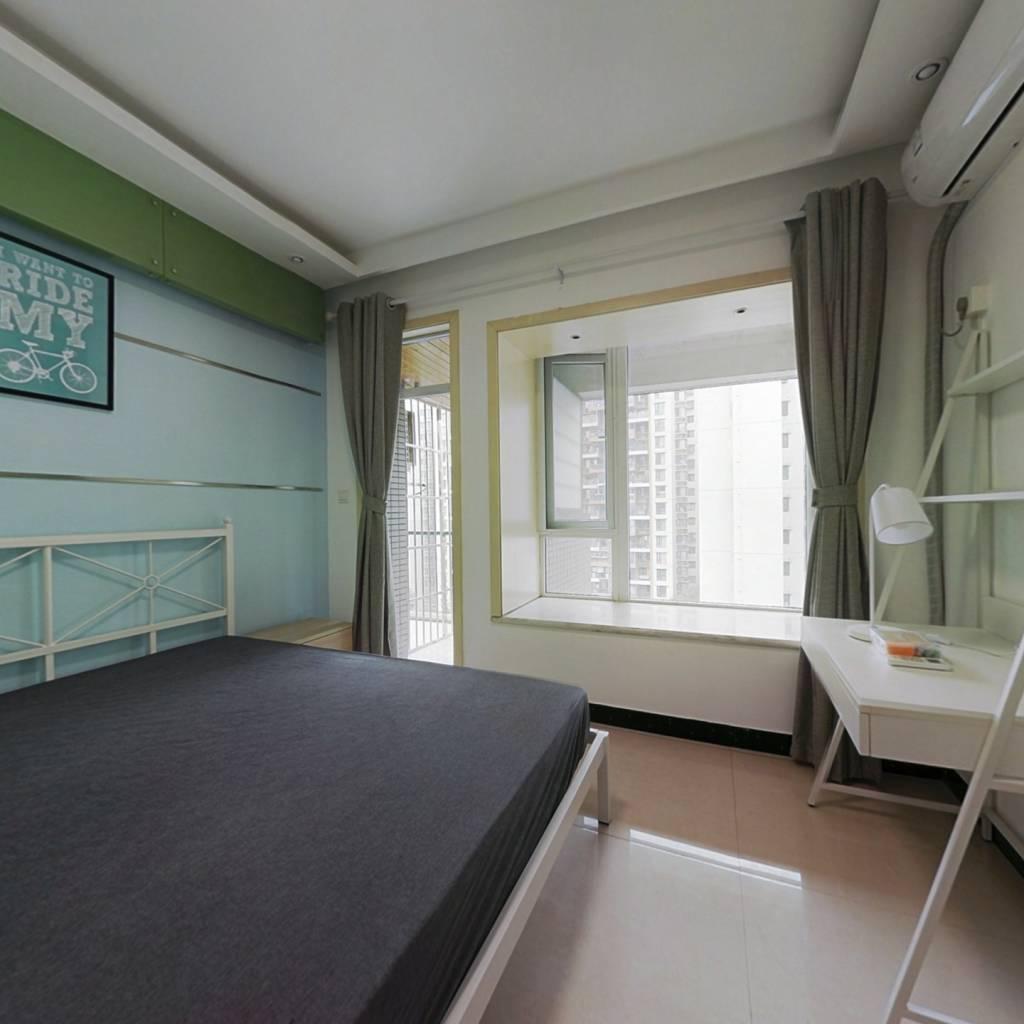 合租·金科一城 4室1厅 北卧室图