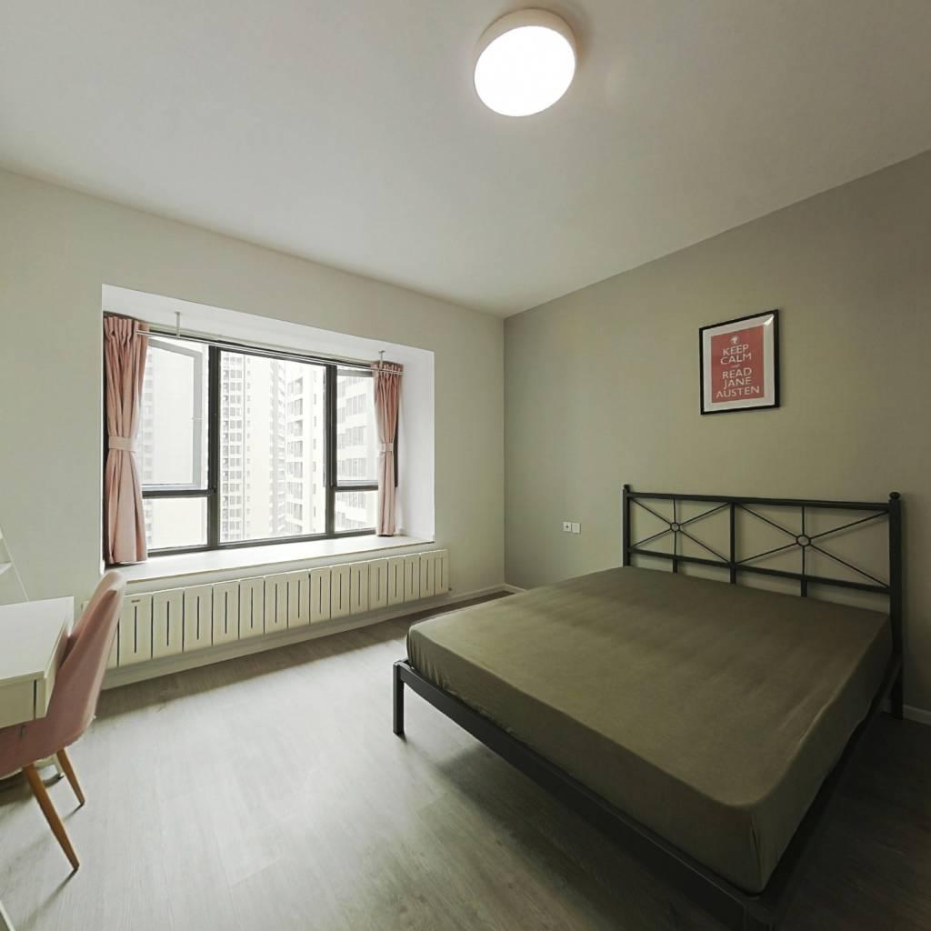 合租·恒大天府半岛二期 4室1厅 东卧室图