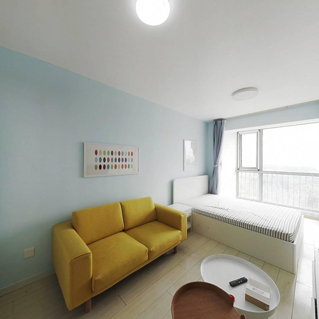 整租·瞰都国际 1室1厅 西南卧室图