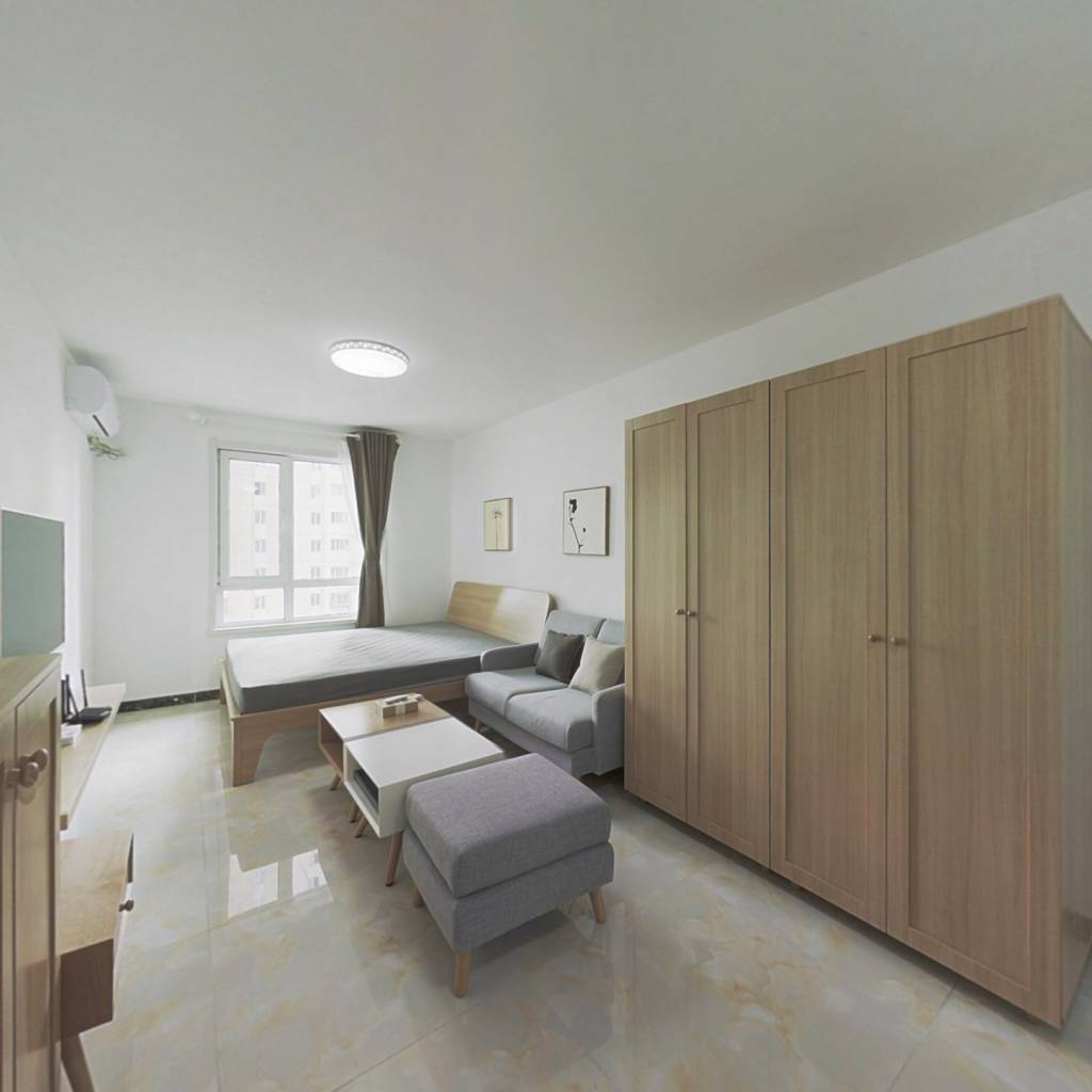 整租·东惠家园 1室1厅 南卧室图