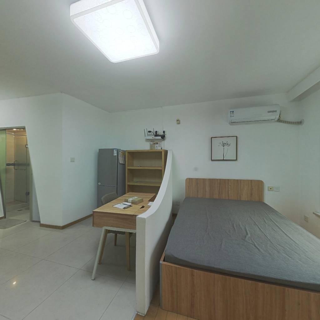 整租·东方时空公寓 1室1厅 南卧室图