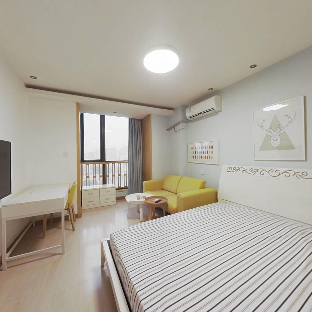 整租·金陵大公馆 1室1厅 北卧室图