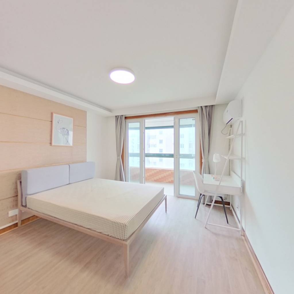 合租·新梅共和城 3室1厅 北卧室图