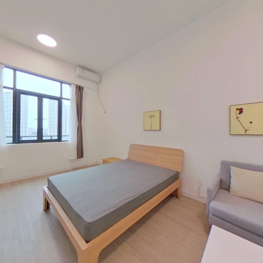 整租·宝龙城市广场 1室1厅 南卧室图